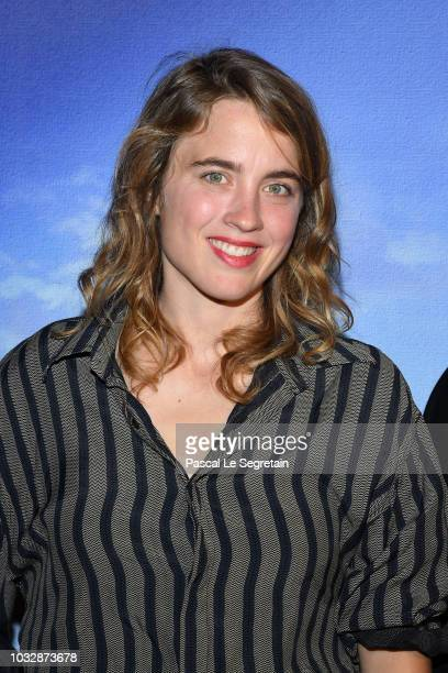 Adele Haenel attends Un Peuple Et Son Roi Paris Premiere at Gaumont Capucines on September 13 2018 in Paris France