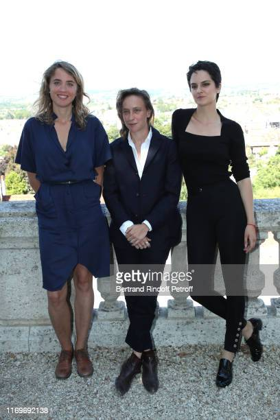 Adele Haenel Celine Sciamma and Noemie Merlant attend the Photocall of the movie Portrait de la Jeune Fille en Feu during the 12th Angouleme...