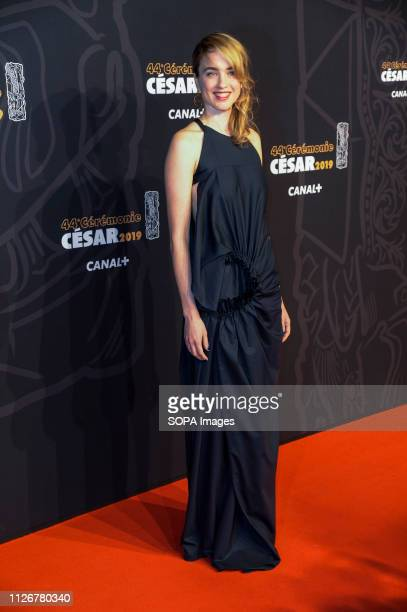 Adele Haenel seen on the red carpet during the Cesar Film Awards 2019 at the Salle Pleyel in Paris France