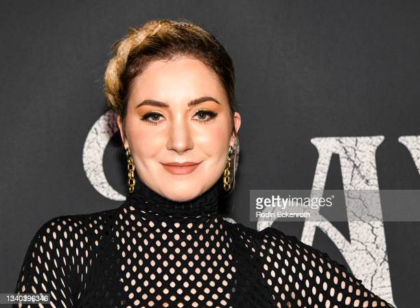 """Adele Heather Taylor attends the Los Angeles Premiere of Focus Features' """"Blue Bayou"""" at DGA Theater Complex on September 14, 2021 in Los Angeles,..."""