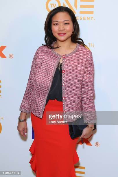 Adele Lim attends 50th NAACP Image Awards Nominees Luncheon Arrivals at Loews Hollywood Hotel on March 09 2019 in Hollywood California