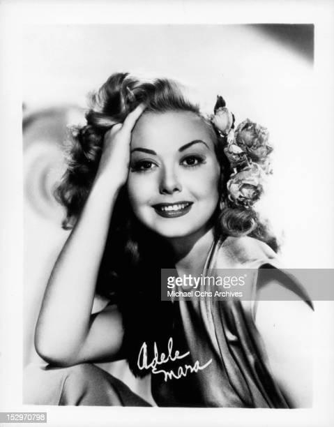 Adele Mara circa 1940
