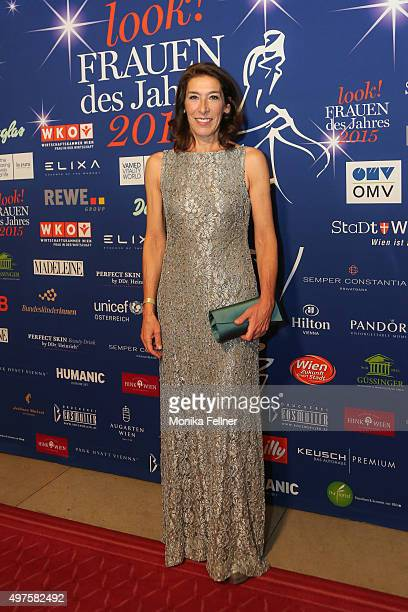 Adele Neuhauser attends the Look Women Of The Year Awards 2015 at the city hall on November 17 2015 in Vienna Austria