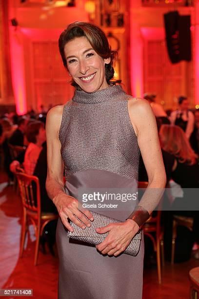 Adele Neuhauser during the 27th ROMY Award 2015 at Hofburg Vienna on April 16 2016 in Vienna Austria