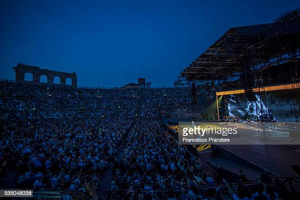 Adele performs at Arena di Verona on May 28 2016 in Verona Italy