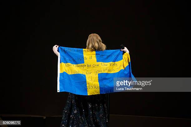 Adele performs at Tele2 Arena on April 29 2016 in Stockholm