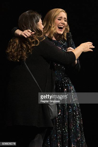 Adele performs at Telenor Arena on May 1 2016 in Oslo Norway