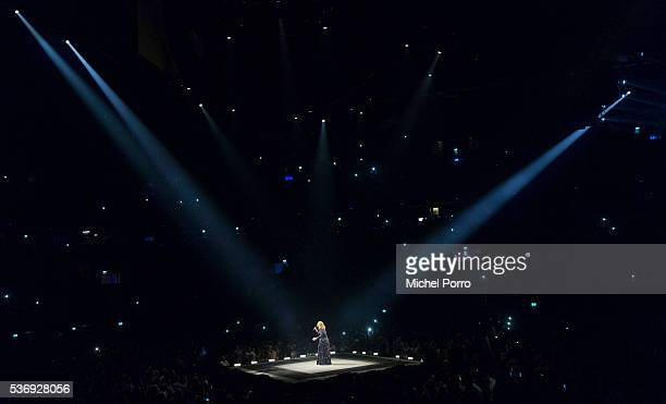 Adele performs at the Ziggo Dome on June 1 2016 in Amsterdam Netherlands