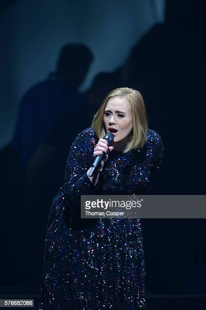 Adele performs during her Adele Live 2016 tour at the Pepsi Center on July 16 in Denver Colorado