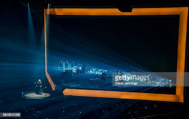 Adele performs on her North America tour at SAP Center on July 30 2016 in San Jose California
