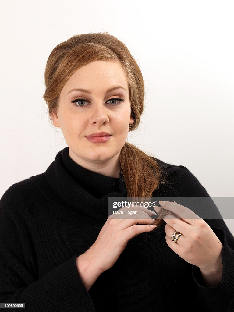 Adele Poses For A Portrait Session To Promote Her New Album U002721u0027 On January