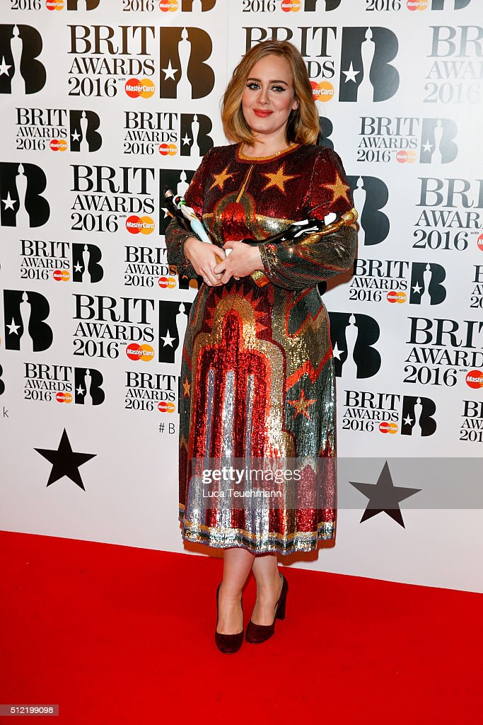 Brit Awards 2016 - Winners Room : News Photo