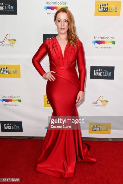 Adele Rene attends the Premiere of The Black Ghiandola hosted by Make A Film Foundation at Samuel Goldwyn Theater on April 22 2017 in Beverly Hills...