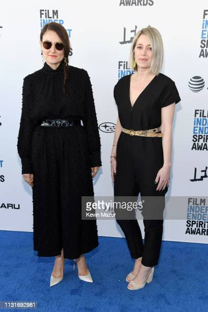 Adele Romanski and Sara Murphy attend the 2019 Film Independent Spirit Awards on February 23 2019 in Santa Monica California
