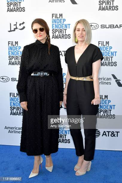 Adele Romanski and Sara Murphy attends the 2019 Film Independent Spirit Awards on February 23 2019 in Santa Monica California