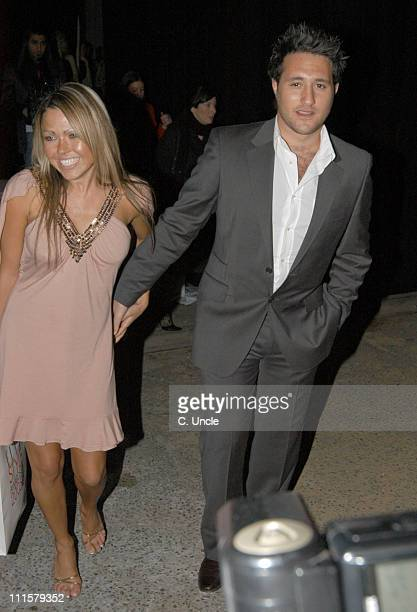 Adele Silva and Antony Costa during Elle Style Awards 2005 After Party Arrivals in London Great Britain
