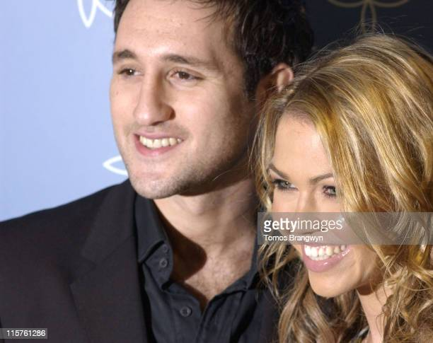 Adele Silva and Antony Costa during UK FiFi Awards 2006 Arrivals at The Dorchester in London Great Britain