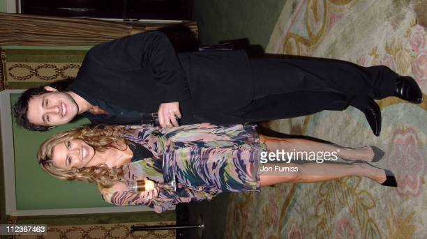 Adele Silva and Antony Costa during UK FiFi Awards 2006 Inside at The Dorchester in London Great Britain