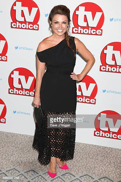 Adele Silva arrives for the TVChoice Awards at The Dorchester on September 5 2016 in London England