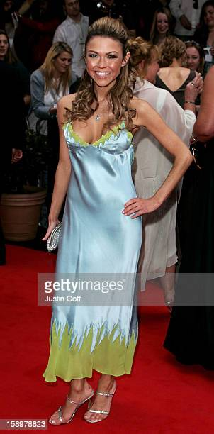 Adele Silva Attends The 2006 British Academy Television Awards At London'S Grosvenor House Hotel