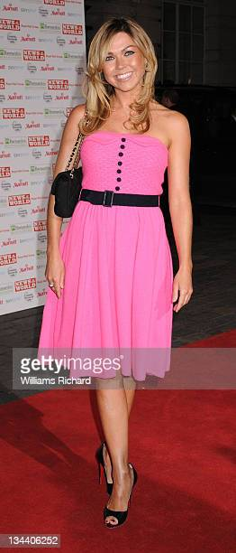 Adele Silva attends the Children's Champs Gala Ball at the Renaissance Chancery Court Hotel on March 12 2008 in London England