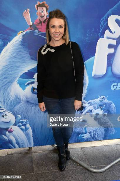 Adele Silva attends the family multimedia screening of 'Smallfoot' at Cineworld Leicester Square on October 7 2018 in London England