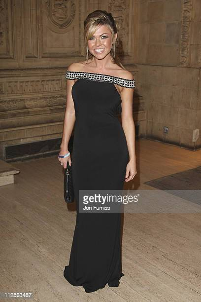Adele Silva attends the National Television Awards 2007 held at the Royal Albert Hall on October 31 2007 in London England