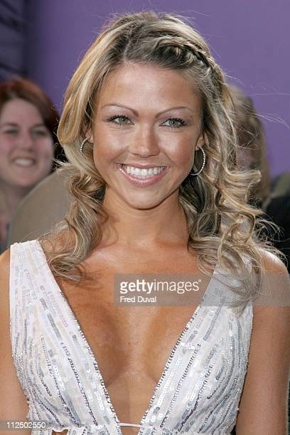 Adele Silva during 2005 British Soap Awards Arrivals at BBC Television Centre in London Great Britain