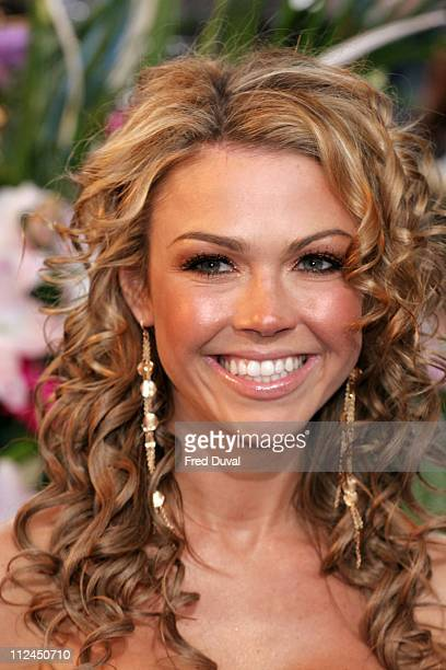 Adele Silva during British Soap Awards 2006 Arrivals at BBC Television Centre in London Great Britain