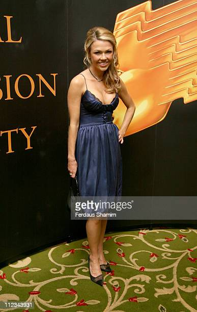 Adele Silva during RTS Programme Awards 2007 Inside Arrivals at Grosvenor House in London Great Britain