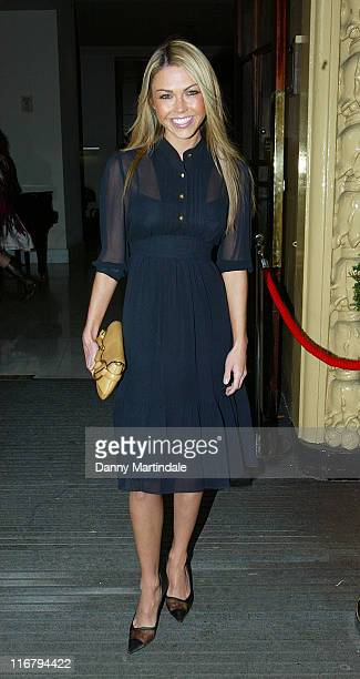 Adele Silva during Tesco Magazine Mum Of The Year Award Outside Arrivals in London Great Britain