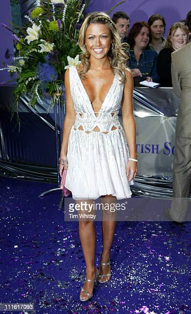 Adele Silva during The 2005 British Soap Awards Arrivals at BBC Tv Studios in London Great Britain