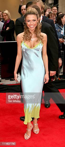 Adele Silva during The 2006 British Academy Television Awards Arrivals at Grosvenor House in London Great Britain