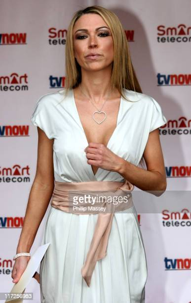 Adele Silva during The Smart Telecom TVNow Awards Arrivals at Mansion House in Dublin Great Britain