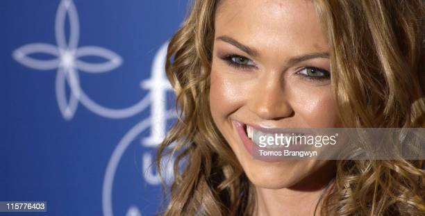 Adele Silva during UK FiFi Awards 2006 Arrivals at The Dorchester in London Great Britain