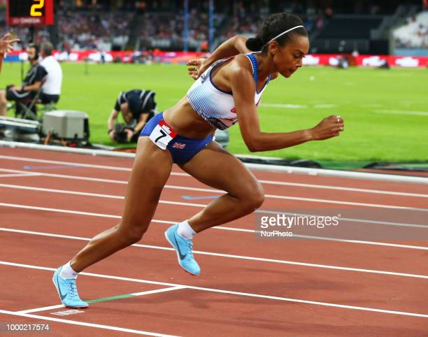 Adele Tracey of Great Britain and Northern Ireland compete in 800m Wome during Athletics World Cup London 2018 at London Stadium, London, on 15 July...