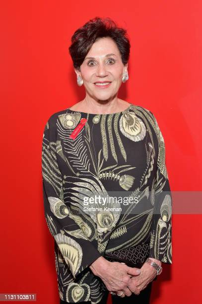 Adele Yellin attends The CalArts REDCAT Gala 2019 Honoring Pete Docter and Henry Taylor on March 16 2019 in Los Angeles California