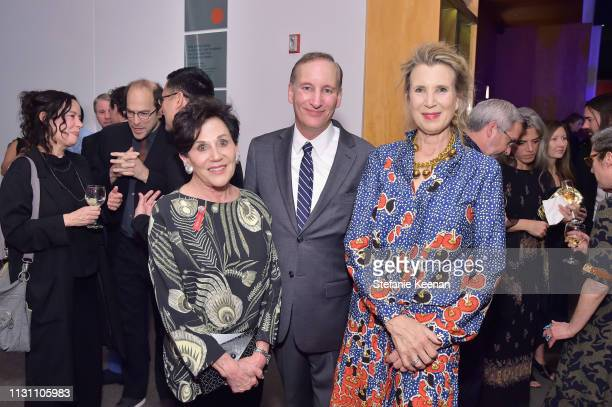 Adele Yellin Mark Murphy and Bianca Roberts attend The CalArts REDCAT Gala 2019 Honoring Pete Docter and Henry Taylor on March 16 2019 in Los Angeles...