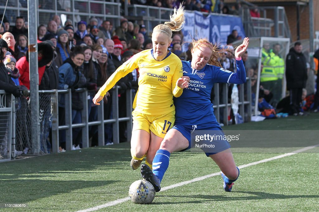Durham Women v Chelsea Women: SSE Women's FA Cup Quarter Final : News Photo