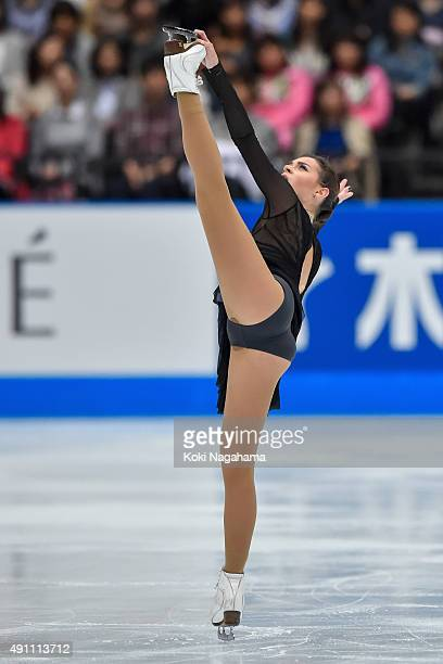 Adelina Sotnikova of Russia competes in the Ladies Singles Free Skating during the Japan Open 2015 Figure Skating at Saitama Super Arena on October 3...