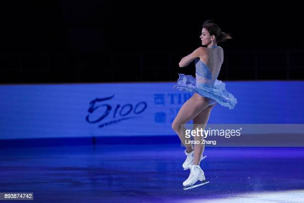 Adelina Sotnikova of Russia performs during the Stars On Ice 2017 China Tour at Beijing Capital Gymnasium on December 16 2017 in Beijing China