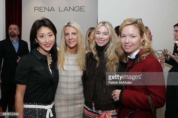 Adelina Wong Ettelson Elizabeth Loomis Alexandra Lind Rose and attend New Yorkers for Children Luncheon hosted by Harpers Bazaar and Rena Lange at...