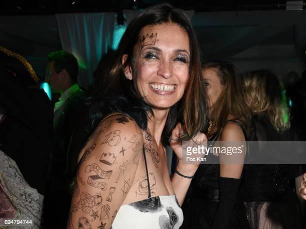 Adeline Blondieau attends 'Bal des Princesses 2017' at Chalet du Lac on June 10 2017 in Paris France