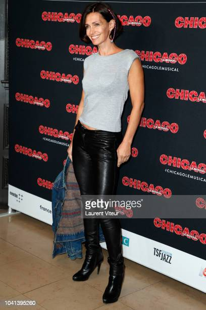 Adeline Blondieau attends 'Chicago' Paris Premiere at Theatre Mogador on September 26 2018 in Paris France