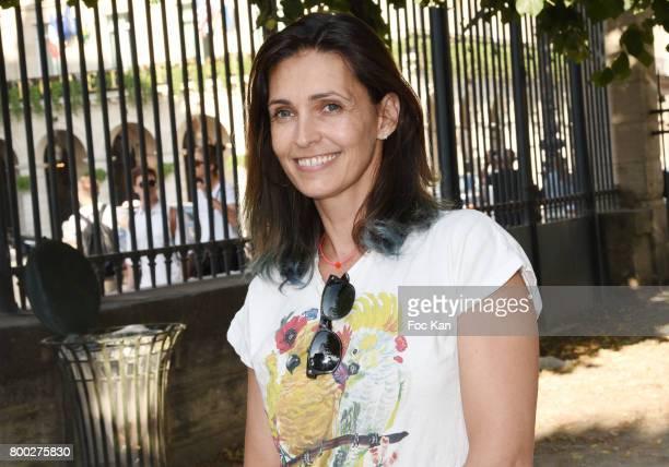 Adeline Blondieau attends La Fete des Tuileries on June 23 2017 in Paris France