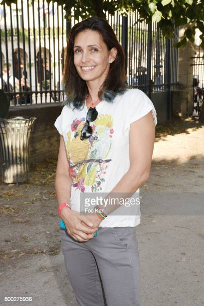 Adeline Blondieau attends La Fete des Tuileries on June 23 2017 in Paris France