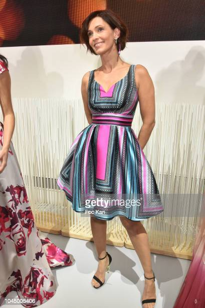 Adeline Blondieau attends the Christophe Guillarme show as part of the Paris Fashion Week Womenswear Spring/Summer 2019 on October 2 2018 in Paris...