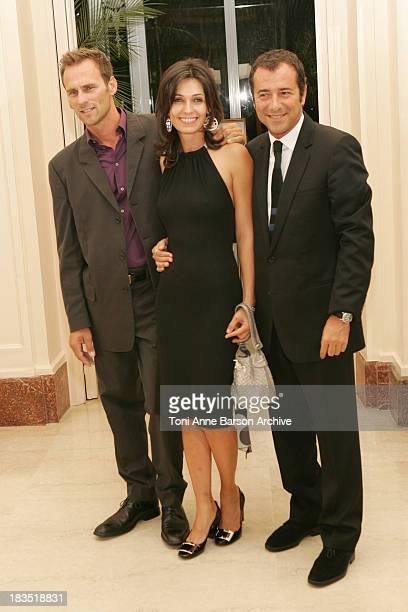 Adeline Blondieau, Sergio Tampororelli, and Bernard Montiel