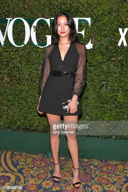 Adeline Rudolph attends Teen Vogue's 2019 Young Hollywood Party Presented By Snap at Los Angeles Theatre on February 15 2019 in Los Angeles California