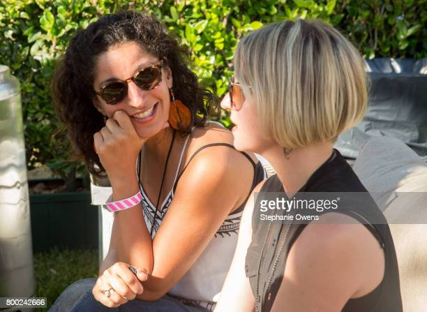 Adella Ladjevardi Lisa Hasko attend the Fast Track Happy Hour during the 2017 Los Angeles Film Festival on June 21 2017 in Culver City California